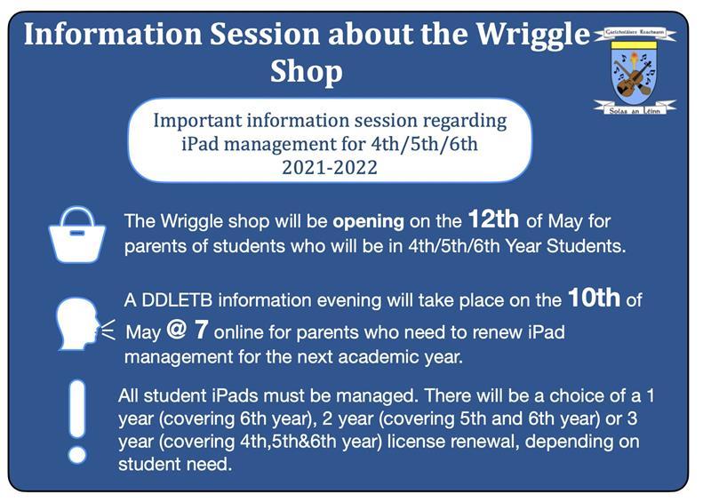 Wriggle Information English
