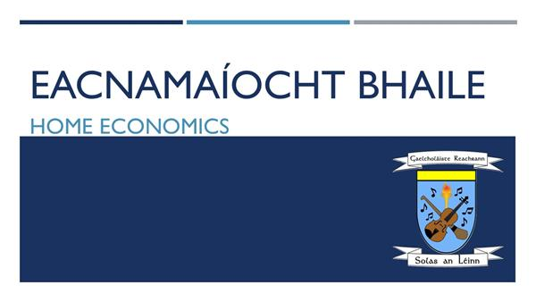 Eacnamaíocht Bhaile - Oíche Oscailte
