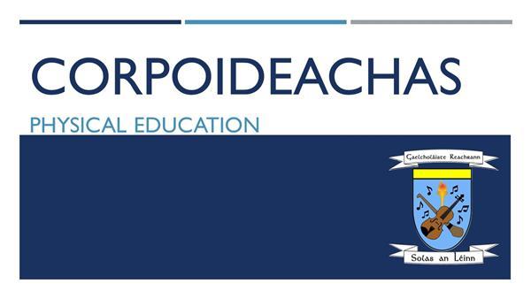 Corpoideachas - Oíche Oscailte