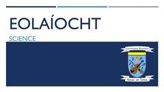 Eolaíocht - Oíche Oscailte